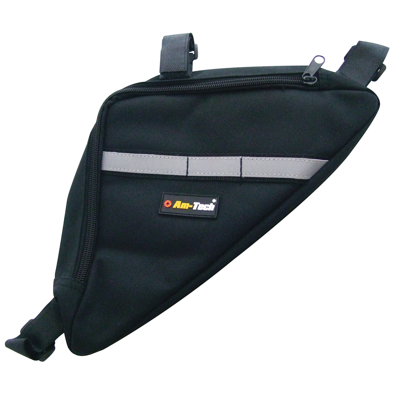 new am tech s1800 bicycle storage bag bike frame pouch